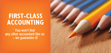 First-class accounting - you won't find any other accountant like us - we guarantee it!